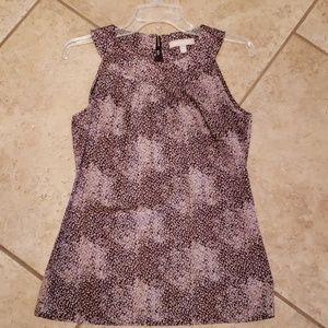 Size 2 Banana Republic sleeveless blouse